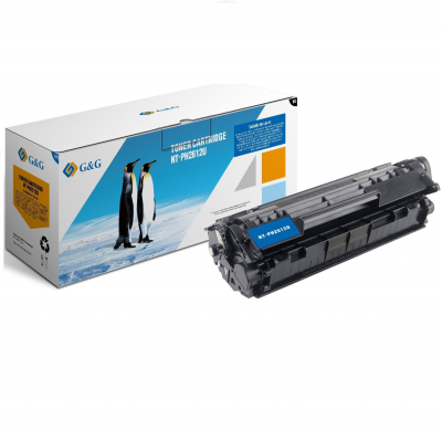 Toner Compatibil HP Q2612AXL Black 2300 Pagini