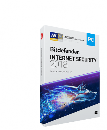 Antivirus Bitdefender Internet Security 2018 ,1 An, 1 PC, Electronica