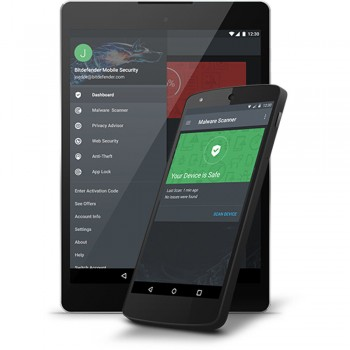 Antivirus Bitdefender Mobile Security Android, 1 Device, 1 An, Electronica