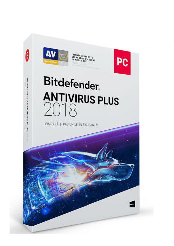 Antivirus Bitdefender Plus 2018 1 an 1 PC Electronica