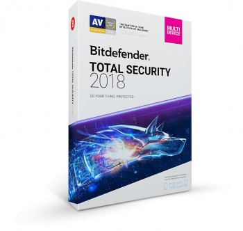 Antivirus Bitdefender Total Security 2018 1 An 5 PC Electronica
