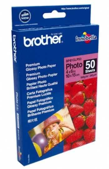 Brother BP61GLP50 Premium Plus Glossy A6 50 coli Hartie foto