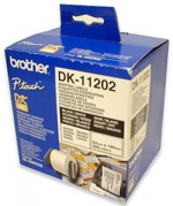 Brother DK-11202 Etichete de hartie pentru transport 62 mm x 100 mm,