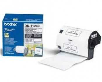 Brother DK-11240 Etichete de hartie pentru coduri de bare 102 mm x 51 mm,