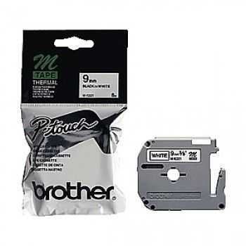 Brother MK-221BZ Banda 9mm BLACK ON WHITE