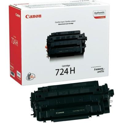 Toner Cartridge Canon 724H 12.500 Pagini (3482B011)