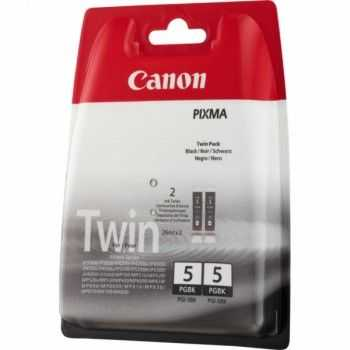Set Cartuse Canon PGI-5 Black Twin Pack (0628B030)