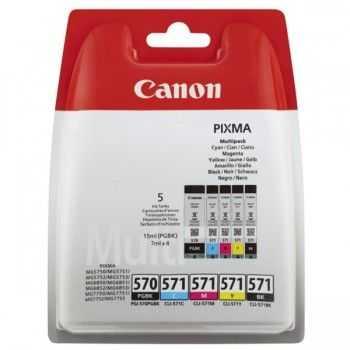Set Cartuse Canon PGI-570/CLI-571 Multipack (0372C004)