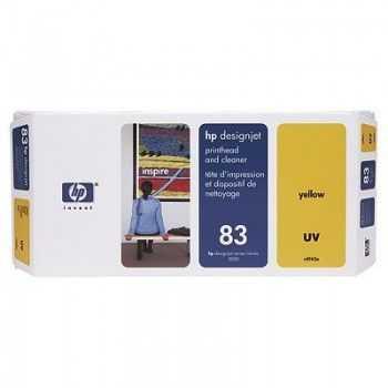 Cap de scriere HP nr 83 cu cap de curatare yellow