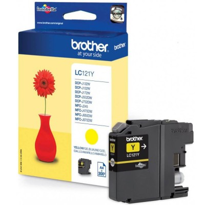 Cartus Brother LC121Y Yellow 300 pagini