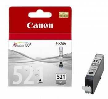Cartus Canon CLI-521G grey