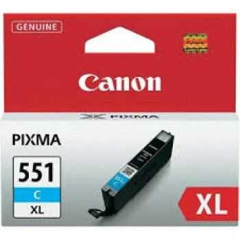 Cartus Canon CLI-551C cyan XL 11ml pentru  iP7250