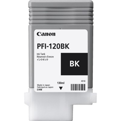 Cartus Canon PFI-120BK Black 130ml