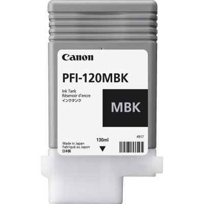 Cartus Canon PFI-120MBK Matte Black 130ml