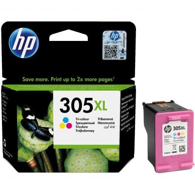 Cartus Cerneala HP 305XL Tri-Color 200 Pagini