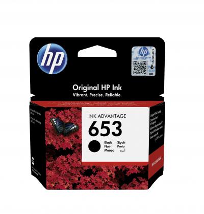 Cartus Cerneala HP 653 Black 400 Pagini