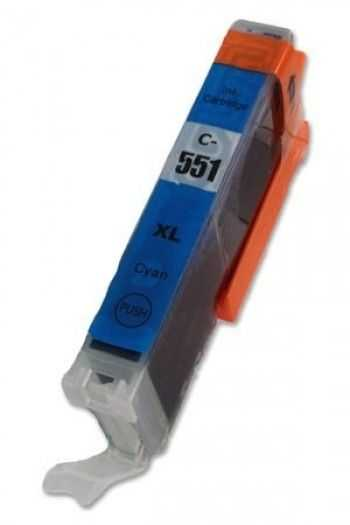 Cartus compatibil CLI-551C XL Cyan