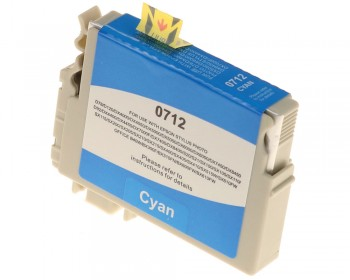 Cartus Compatibil Epson T0712 Cyan