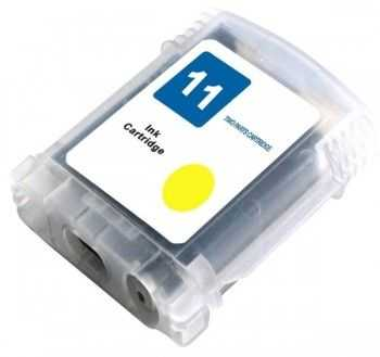 Cartus compatibil HP nr 11 yellow