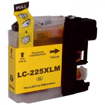Cartus Compatibil LC225XLY Yellow 1200 pagini