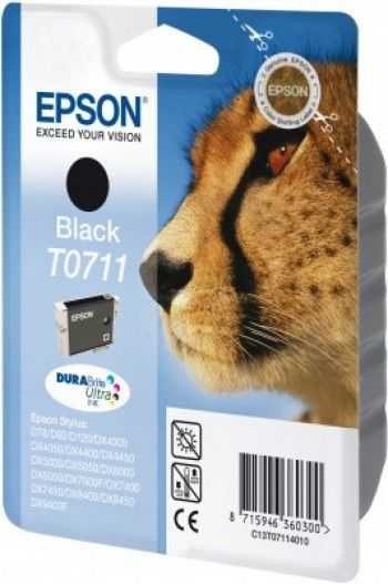 Cartus Epson T0711 black
