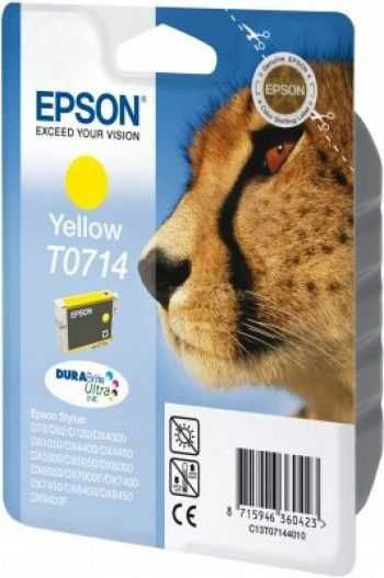 Cartus Epson T0714 yellow