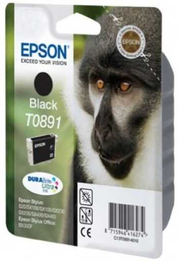 Cartus Epson T0891 black