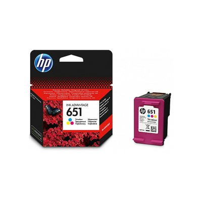 Cartus HP Ink No.651 Color (C2P11AE)