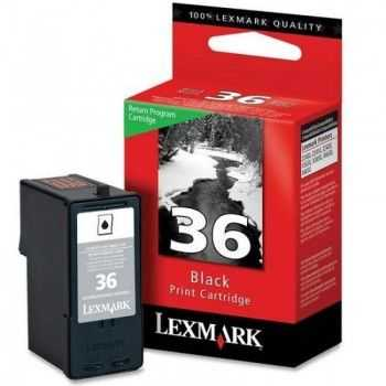 Lexmark Ink No. 36 (18C2130E) Black Return 0,175k