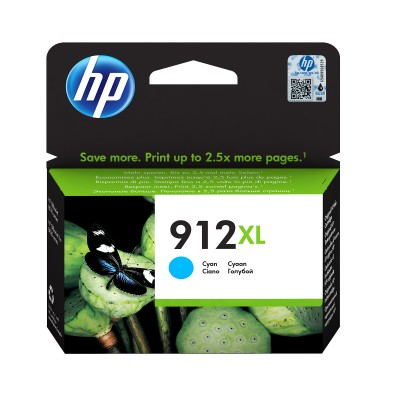 Cartus Original HP 912XL Cyan 825 Pagini