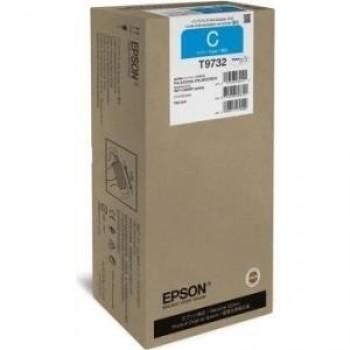 Cartus Original T9732 Cyan XL pt. Epson WF-C869R, 22.000 pagini