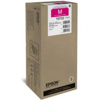 Cartus Original T9733 Magenta XL pt. Epson WF-C869R, 22.000 pagini
