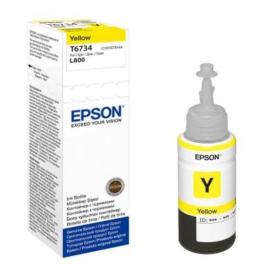 Cerneala Epson T6734 Yellow 70ml