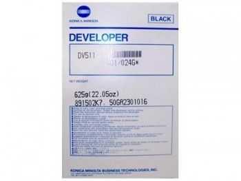 Developer Konica Minolta bizhub 421 bizhub 501 DV511 black
