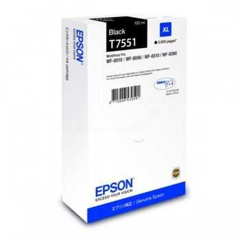 Cartus Cerneala Epson Cartridge Black XL T7551 (C13T755140)