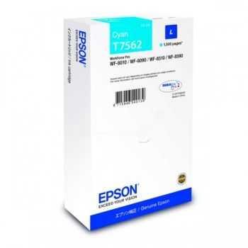 Epson Cartridge Cyan L T7562 (C13T756240)
