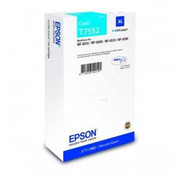 Epson Cartridge Cyan XL T7552 (C13T755240)