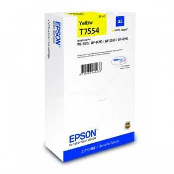 Epson Cartridge Yellow XL T7554 (C13T755440)