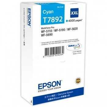 Epson Ink Cyan HC T7892 (C13T789240)