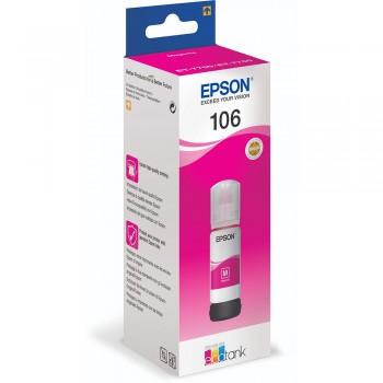 Flacon de Cerneala 106 Epson EcoTank Magenta 70ml