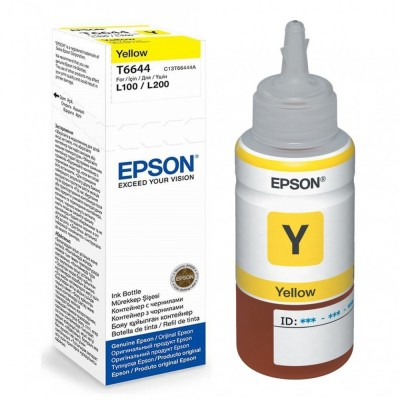 Flacon de Cerneala EPSON T6644 Yellow