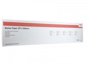 Hartie Banner A3 pentru Oki C911 297 x 1200