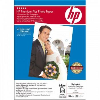 Hârtie Foto HP Premium Lucioasă 20 coli A4 280 grame