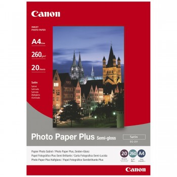 Hartie Photo Canon A4 Semi-Glossy 20 Coli 260g/m2