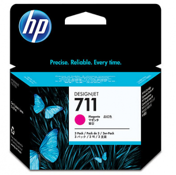 Set Cartuse HP 711 3-pack 29-ml Magenta