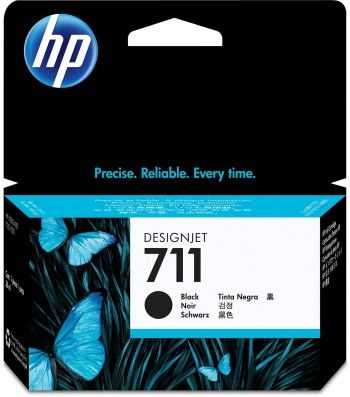 Cartus de Cerneala HP 711 Black 38 ml