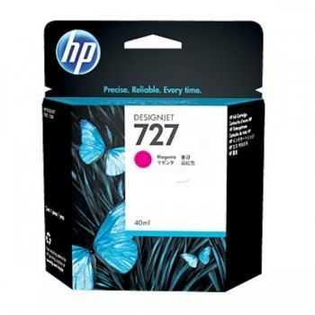 HP 727 40-ml Magenta Designjet Ink Cartridge
