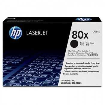 HP 80X LaserJet Dual Black Print Cartridge M401/M425 (2 x 6900 pag)