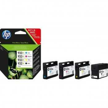 Set cartuse HP 932XL Black 933XL Cyan, Magenta, Yellow