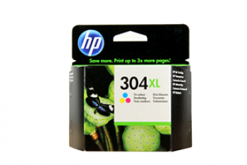Cartus de Cerneala HP No.304 XL Color (N9K07AE)
